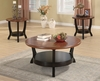 3 PC Set coffee & 2 end tables model # 701504