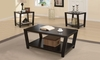 3 PC Set coffee & 2 end tables model # 701510