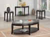 3pc contemporary coffee table & end tables set model # 701515