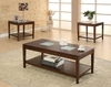 3PC Coffee & 2 end tables set model # 701519