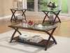 3PC Set coffee & 2 end tables model # 701527