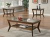 3PC coffee & 2 end tables set # 701528