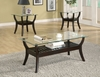 3 PC Set coffee table & 2 end tables model # 701530