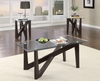 3 PC set coffee & 2 end tables model # 701545