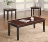 3PC Set wooden coffee & 2 end tables model # 701565