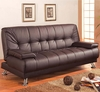 Contemporary coaster futon sofa bed model # 300148