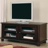 TV Stand Transitional Media Console W/ Doors & Shelves Coaster furniture 700610
