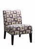 Accent lounge chair model 468F4S-HOE