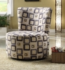 Accent contemporary chair model # 488F4S-HOE