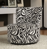 Accent  Zebra lounge chair model # 488F6S-HOE
