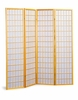 4 panel natural finish screen �room divider� model # 4623