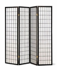 4 panel black screen �room divider� model # 4624