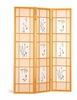 3 Panel screen room divider model # 4409