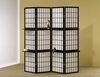 4 Panel screen room divider model # 900100