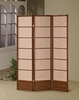 Thtree panel screen room divider model # 900164