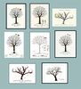 Personalized Wedding Signature Tree Posters etc