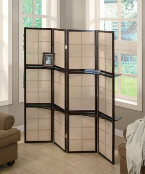 4 panel screen room divider model # 900166