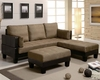 Modern coaster futon sectional sofa bed modular # 300160