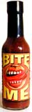 Bite Me Roasted Chipotle Garlic Hot Sauce 5oz