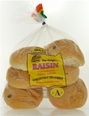 Raisin Portuguese Sweetbread Rolls 13 oz. (6 per Package)