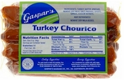 Gaspar's Turkey Chourico Franks 1 lb.
