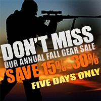 Annual Cold Weather Gear Sale - 15% - 30% OFF