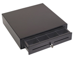 (Click to Enlarge) Cash Drawer 16x16 with media slots and printer cable