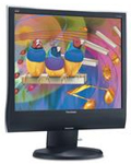 "(Click to Enlarge) 17"" Flat LCD Monitor - Non Touch"