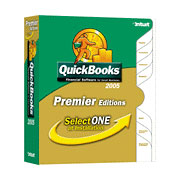 (Click to Enlarge) QuickBooks Premier 2005 ALL Editions (Convertible) - Full Version - Retail Box