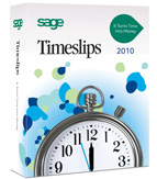 (Click to Enlarge) Sage Timeslips 2010 Full Version - 10 Users