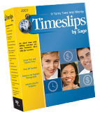 (Click to Enlarge) Timeslips 2007 - 1 User - Full Version - Retail Box