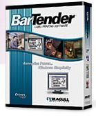 (Click to Enlarge) SeaGull BarTender Enterprise Edition Labeling Software v8.x- Unlimited Users - 10 Printers