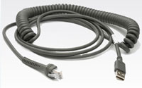 (Click to Enlarge) SYMBOL (152) [sym-cbau09c15zar] - >>> CABLE UNIVERSAL STYLE USB 15- COILED (ITEM ALSO KNOWN AS : CBA-U09-C15ZAR) [sym-cbau09c15zar]