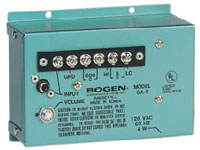 (Click to Enlarge) BOGEN [bog-ga2] - >> 1.5-WATT AMPLIFIER BY BOGEN COMMUNICATIONS  160435 (ITEM ALSO KNOWN AS : GA2) [bog-ga2]