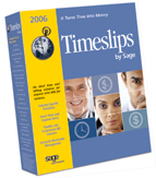 (Click to Enlarge) Timeslips 2006 Single User - Multi User Ready - Full Version - Retail Box
