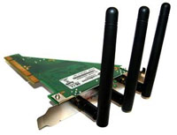 (Click to Enlarge) CRADLEPOINT, INC. [mob-w211np] - >> WIRELESS 802.11 N PCI CARD [mob-w211np]