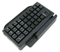 (Click to Enlarge) POSIFLEX [kp301e007] - POSIFLEX - ACCESSORY - KEYBOARD ATTACHMENT - 36 PROGRAMMABLE DYNAKEY - MSR OPTIONAL - BLACK - FOR KS7300 AND KS6615 [kp301e007]