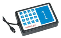 (Click to Enlarge) POSIFLEX [BB2000] - POSIFLEX - BUMP BAQR - 17 PROGRAMMABLE MEMBRANE KEY - WALL MOUNTABLE [BB2000]