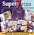 (Click to Enlarge) Super 7 Plus 2002 Software Pack