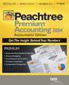 (Click to Enlarge) Peachtree Premium Accounting 2004 - Accountants' Edition - Multi-User Value Pack (5-User) - Full Version - Retail Box