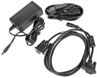 (Click to Enlarge) HONEYWELL SCANNING [9500-rs232-1e] - HONEYWELL - DOLPHIN 9500-9900 SERIES RS-232 CHARGING AND COMMUNICATIONS CABLE - POWER SUPPLY AND CORD (US KIT) [9500-rs232-1e]