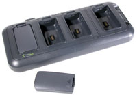(Click to Enlarge) HONEYWELL SCANNING & MOBILITY [hhp-9500qc1e] - >> DOLPHIN 9500/9550 4-SLOT BATTERY CHARGING STATION US CORD & PWR (ITEM ALSO KNOWN AS : 9500-QC-1E) [hhp-9500qc1e]