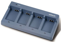 (Click to Enlarge) UNITECH [5100-602218g] - UNITECH - ACCESSORY - BATTERY CHARGER CRADLE - 4 BAY - AC POWER SUPPLY - FOR HT660 & PA600 BATTERIES (.) [5100-602218g]