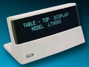 (Click to Enlarge) LOGIC CONTROLS - LOGIC TABLE TOP DISPLAY 2 X 20 RS232 9 PIN GRAY [lt9000-g]