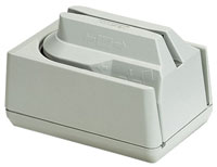 (Click to Enlarge) MAGTEK [mag-micr-3trk] - >> MINI MICR KB WEDGE WHITE 3TK MSR FORMAT (1100)    (ITEM ALSO KNOWN AS : 22530001) [mag-micr-3trk]