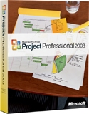 (Click to Enlarge) Microsoft Office Project Professional 2003 - Full Version - Retail Box