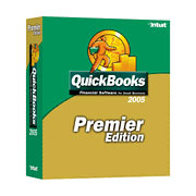 (Click to Enlarge) QuickBooks Premier 2005 - Full Version - Retail Box