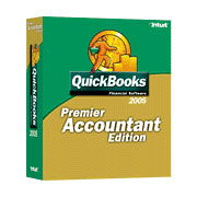 (Click to Enlarge) QuickBooks Premier 2005 Accountant Edition - Full Version - Retail Box
