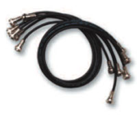 (Click to Enlarge) DIGITAL SECURITY CONTROLS [1479008-1] - >>> CONCOURSE PRO RG59 MINI-COAX PATCH CABLE - BLACK 18 Inch [1479008-1]
