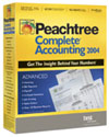 (Click to Enlarge) Peachtree Complete Accounting 2004 - Full Version - Retail Box